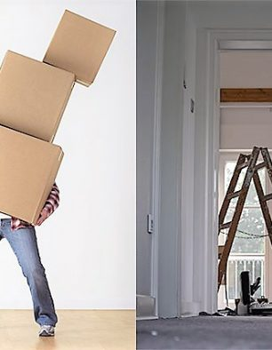Why move when you can renovate?